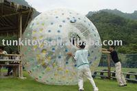 water grassrolling ball