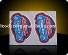 3D vinyl sticker