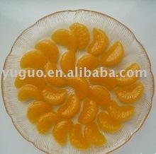 YUGUO 2012 BRC canned mandarin orange in light syrup