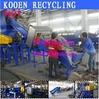 high performance plastic film crushing washing and drying machine line