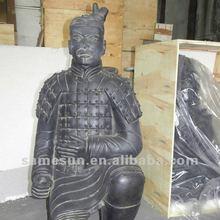 Black pottery waterproof Terra-cotta Figures