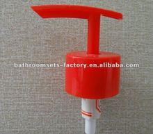 colored dispenser pump