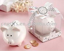wedding souvenir piggy money saving banks coin box for event party supplies