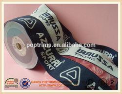 custom woven jacquard elastic webbing