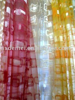 jacquard curtain , jacquard colored lace curtains