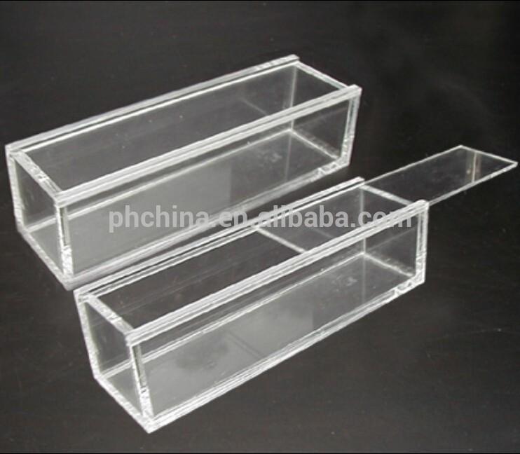 ykl 089 rectangle effacer acrylique affichage bo te avec. Black Bedroom Furniture Sets. Home Design Ideas