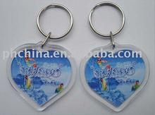SGS Hot Sale Custom Shape Promotion Gift Mobile Phone Acrylic Key Chain