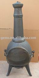 High quality cast iron chimenea