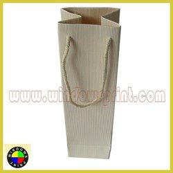 Corrugated Paper Wine Bag