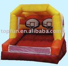 inflatable basketball goals