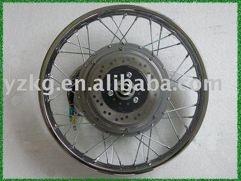 4-7KW DC spoke brushlesse eceltric motor