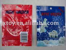 Creativo artificiale inverno neve istante/polvere di ghiaccio neve/magia della neve