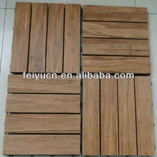 E1 salle de bains salle de cuisine strand tiss sauna for Plancher en bambou pour salle de bain