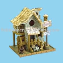 Decorative Resin House Bird Cage