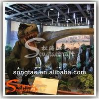 artificial dinosaur statue in outdoor