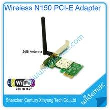 Wireless LAN Wifi Network 150mbps 802.11N PCI-E Adapter