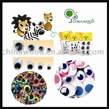 Colored Self Adhesive Wiggly Eyes