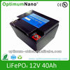 12V 40Ah UPS powerful battery pack