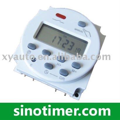 12v digital contador de tiempo electrónico