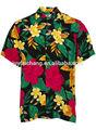 mens bela havaiana camisas manga curta