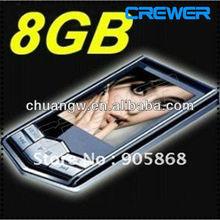 Cheap Price Slim 1.8 LCD 8GB FM Radio Video Mp3 Mp4 Player