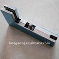 De aleación de aluminio/de zinc - aleación de parche apropiado, curva de la abrazadera; en forma de l de cristal abrazadera