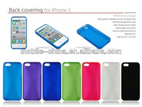 TPU material case for Iphone 5, mobile phone leather case for iphone 5