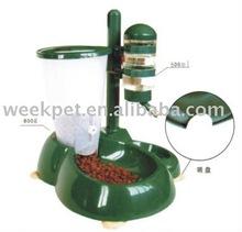 Combination Dog Drinking Bowl & dog feeder