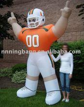 inflatable cartoon height 3m baseball player