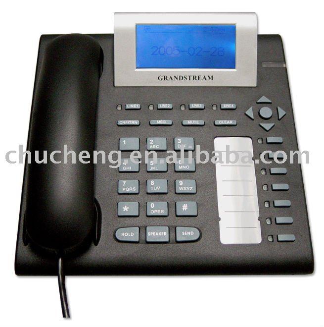 grandstream sip voip de teléfono con poe gxp2000