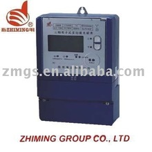 3 phase 4 wire energy meter connection