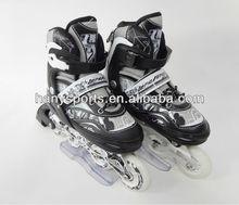 Professinal Adjustable Inline Skates with PVC wheels