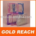 Plastic Cosmetic Bag with Zipper