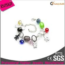 New Design Beautiful Colour Beads Bracelet For Girl