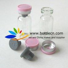 HCG 2ml glass vials bottle with 13mm flip top vial caps