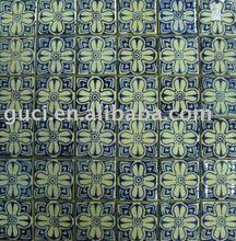 flower printing ceramic mosaic