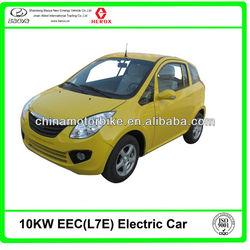 EEC Certificate electric car