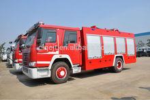 HOWO 4x2 water Fire Fighting Truck