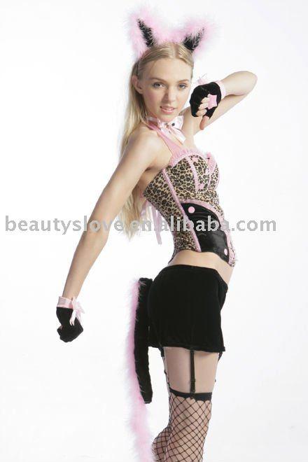 señoras sexy ropa de baile erótico kitty traje de gato