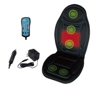5 Motors 12V Massage Seat Topper Heated Cushion For back&thigh