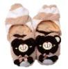 plush house slipper/plush toy slipper/plush animal house shoes