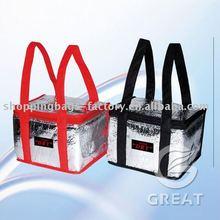 DRY surface aluminium foil cooler bag for frozen(Gre-031923)
