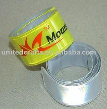 flash on night pvc snap bracelet
