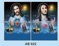 иисус линзовидные 3d линзы религиозные плакаты