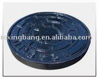 round ductile iron sand casting manhole cover