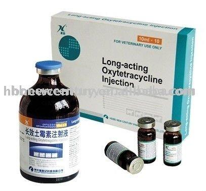 5% 10% 20% oxitetraciclina inj para uso veterinario