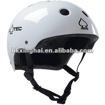 Long board skate helmet