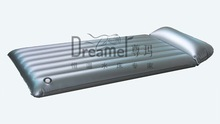 PVC material of inflatable tube mattress