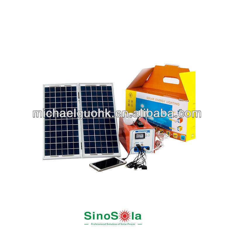 portable solar power kits