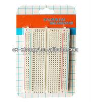 Reuseful! 300 tie-points solderless printed circuit board